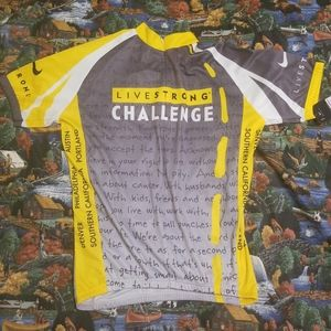 Livestrong Cycling Jersey